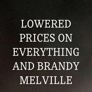 LOW BRANDY MELVILLE MIDORI BIKINI CHEER WEAR ITEMS